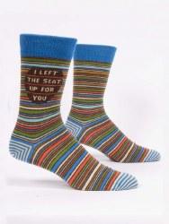 Men's Sock I Left The Seat Up
