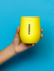 Stemless 12oz Neon Yellow