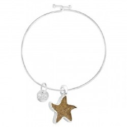 Bangle Beach Starfish Turq