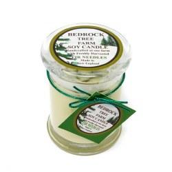 Candle Libbey Jar Nat 12oz