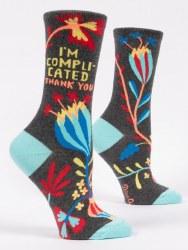Socks Im Complicated Crew