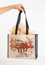 Gift Bag Sloth Floral