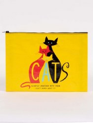 Jumbo Pouch Cats