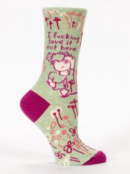 Socks F-ing Love It HereCrew