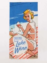 Dish Towel Lake Wine