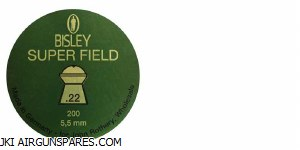 Bisley Super Field .22 Pellets