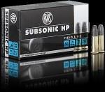 .22LR RWS Subsonic HP