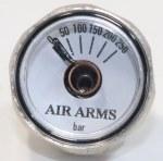 Air Arms Pressure Gauge