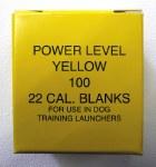 .22 Yellow Launcher Blanks