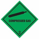 Compressed Gas Label Adhesive