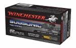 Winchester 22LRSubsonic 42gr