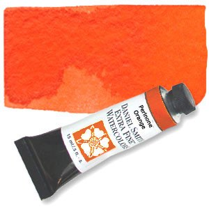 Daniel Smith Extra Fine Watercolor 15ml Perinone Orange