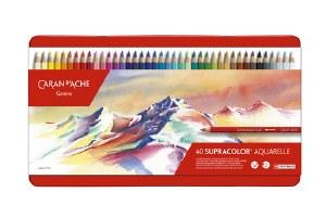 Caran D'Ache Supracolor Watersoluble Pencil Set of 40