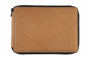 Global Art Brown Leather Pencil Case 120ct.