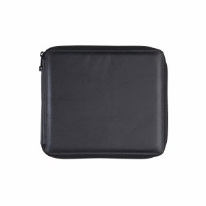 Global Art Black Leather Pencil Case 96ct.