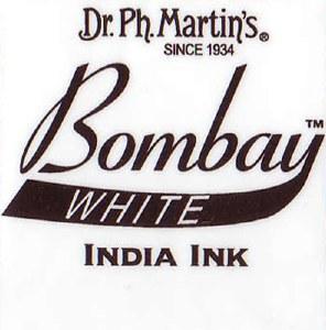 Dr. Ph. Martins Bombay India Ink 1oz White