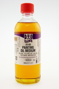 Holbein Duo Aqua Oil Painting Oil Medium 200ml