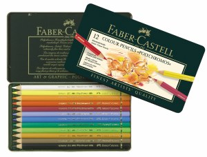 Faber-Castell Polychromos Colored Pencils Set of 12