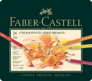 Faber-Castell Polychromos Colored Pencils Set of 24