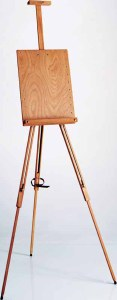 Mabef M26 Field Easel with Adjustable Panel