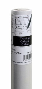 Canson Foundation Tracing Paper Roll 18in x20yds