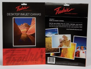Fredrix Printable Inkjet Canvas 11x17 6 sheets