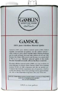 Gamsol Odorless Mineral Spirits Gallon (128oz)