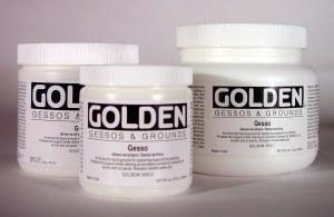Golden Gesso 16 oz.
