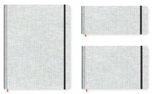 Hand Book Travelogue Watercolor Journal Pocket Panorama 3.5x8.25