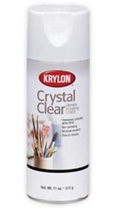Krylon Crystal Clear Acrylic Coating 11oz