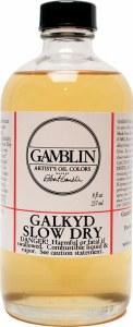 Gamblin Galkyd Slow Dry 8oz