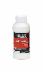 Liquitex Matte Varnish 8oz