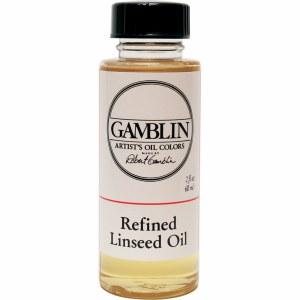 Gamblin Refined Linseed Oil 2oz