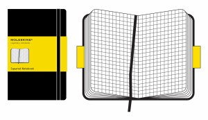 Moleskine Squared Notebook Pocket