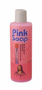 Mona Lisa Pink Soap 8 oz.