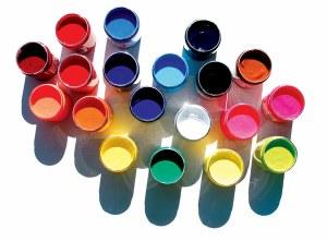 Speedball Fabric Printing Ink Process Cyan 8oz