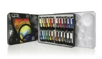 Golden QoR  Watercolor Introductory 24 Color  Set