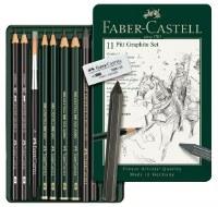 Faber-Castell 11 Pitt Graphite Set