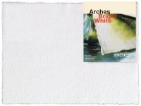 Arches Watercolor Paper 140lb Hot Press Bright White 22x30
