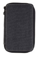 Global Art Black Canvas Pencil Case 24ct.