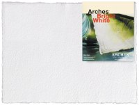 Arches Watercolor Paper 300lb Hot Press Bright White 22x30
