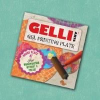 """Gelli Arts 4"""" Round Gel Printing Plate"""