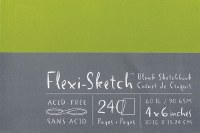Flexi Sketch Book 4X6 Fern 240 Sheets