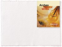 Arches Watercolor Paper 90lb Hot Press Natural White 22x30