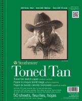 Strathmore 400 Series Toned Tan Sketch Pad 9x12