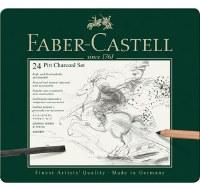 Faber Castell  24 Pitt Charcoal Set