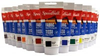 Speedball Fabric Block Printing Ink 2.5oz. Black