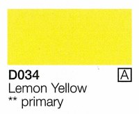 Holbein Acryla Gouache Lemon Yellow (A) 20ml