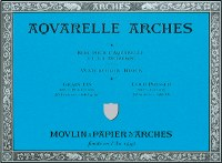 Arches 300lb Cold Press Block 9x12 10 sheets