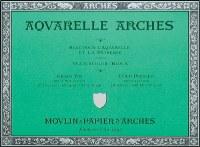 Arches 140lb Cold Press Block 12x16 20 sheets